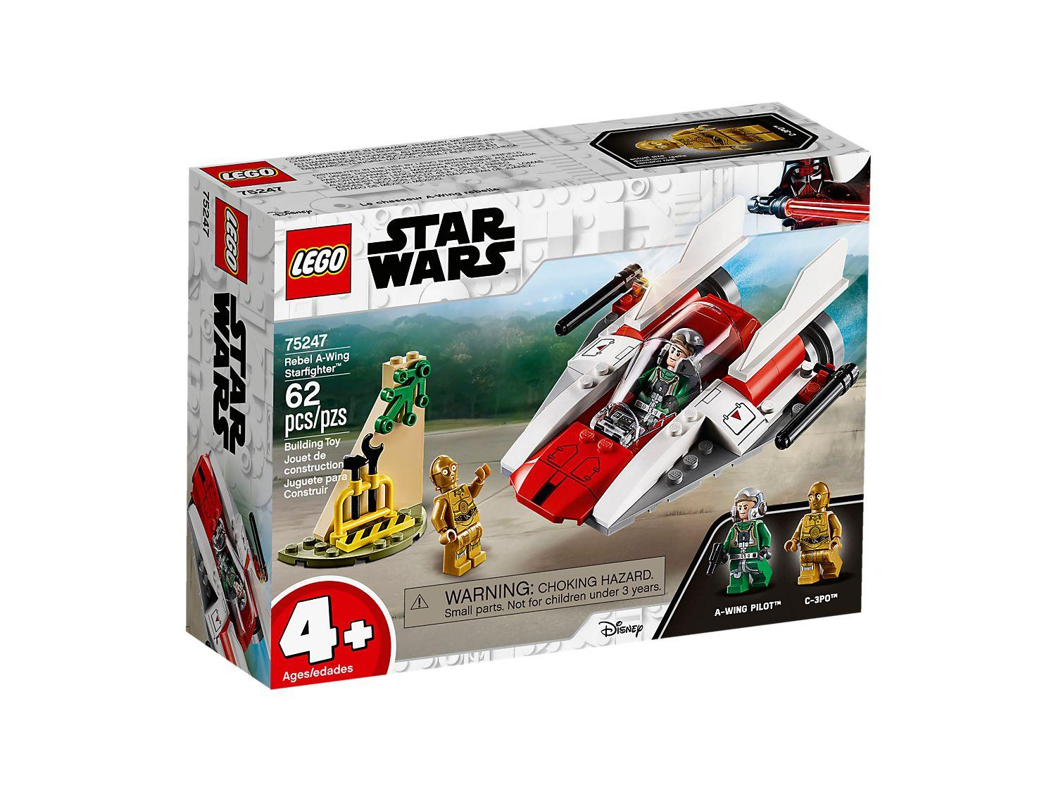 Lego Star Wars Rebel A-Wing Starfighter (75247)