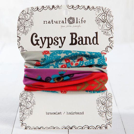 Gypsy Band Purple and Red