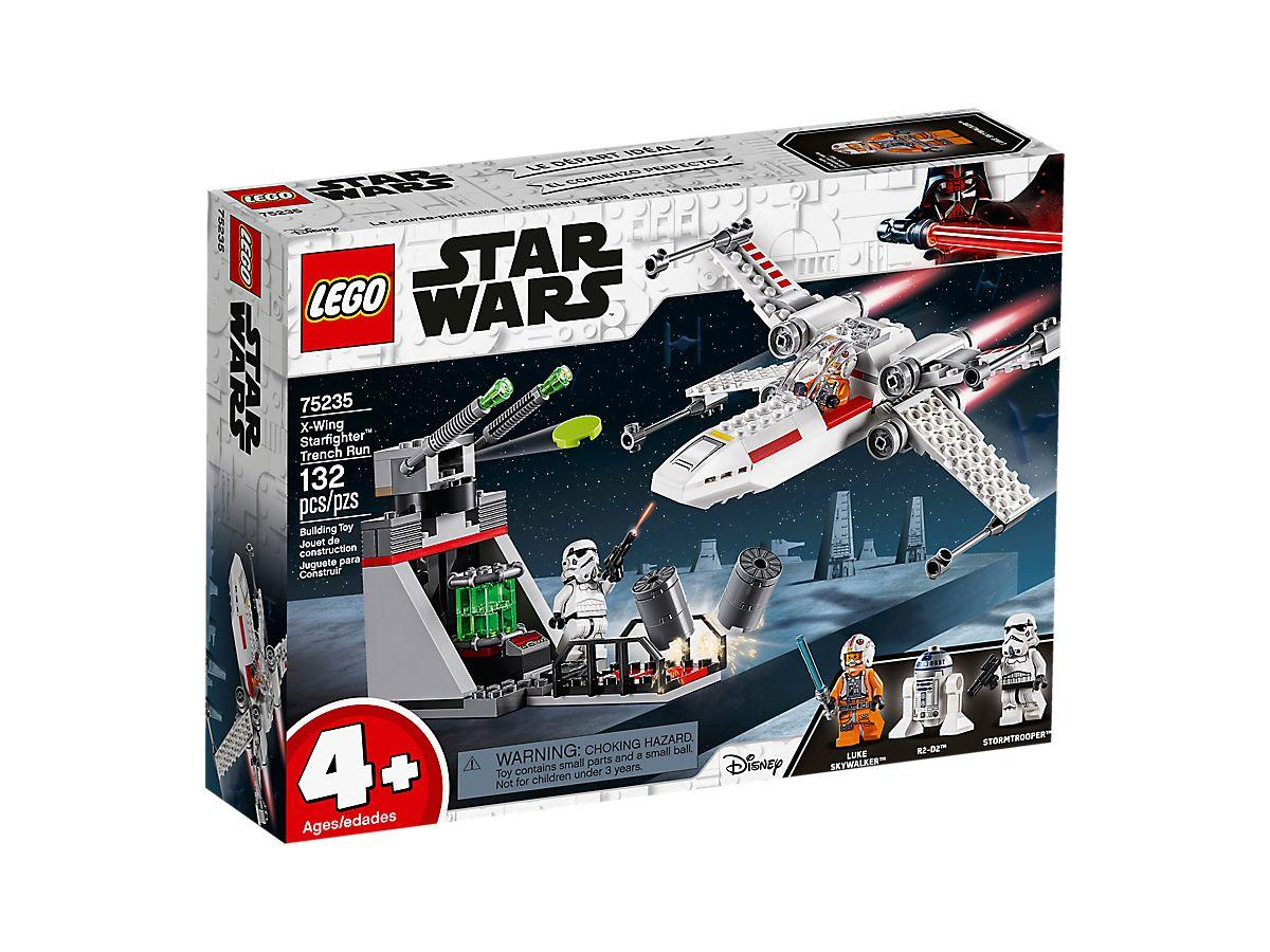 Lego Star Wars X-Wing Starfighter Trench Run (75235)