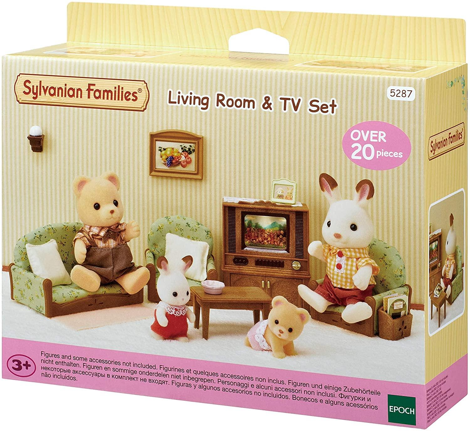 Sylvanian Families Living Room & TV Set (5287)