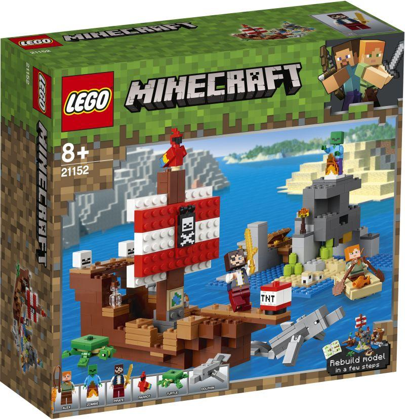 Lego Minecraft The Pirate Ship Adventure (21152)