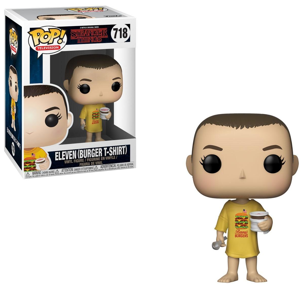 POP! Movies: Stranger Things - Eleven burger t-shirt (718) Vinyl Figure