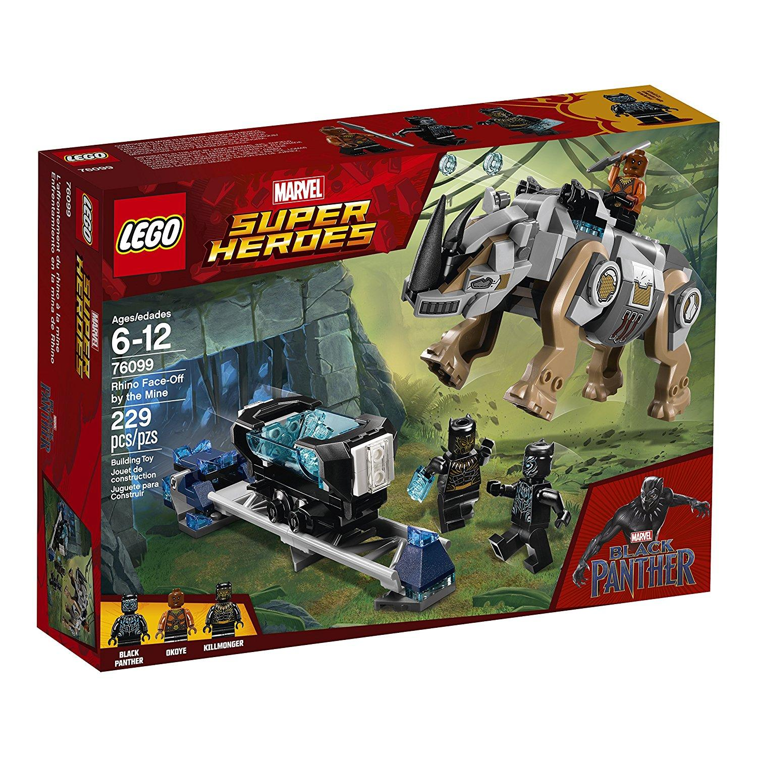 Lego Super Heroes Rhino Face-Off by the Mine (76099)