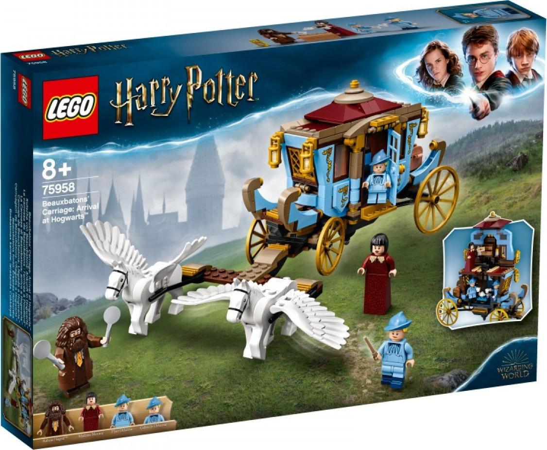 Lego Harry Potter Beauxbatons' Carriage Arrival at Hogwarts (75958)