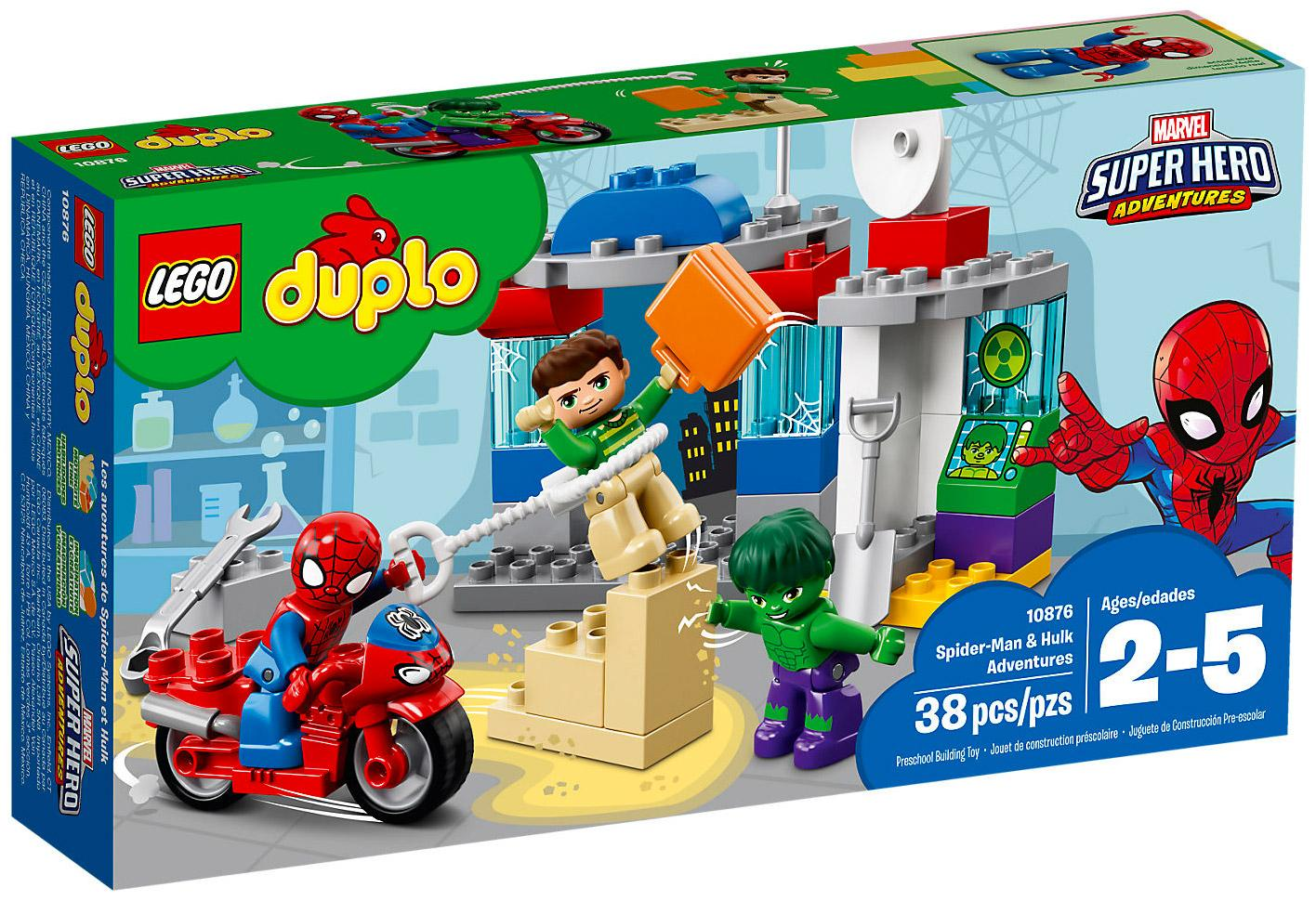 Lego Duplo Disney SpiderMan & Hulk