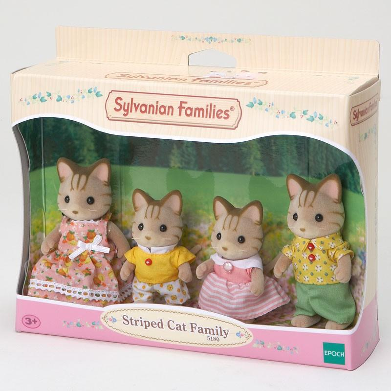 Sylvanian Families Striped Cat