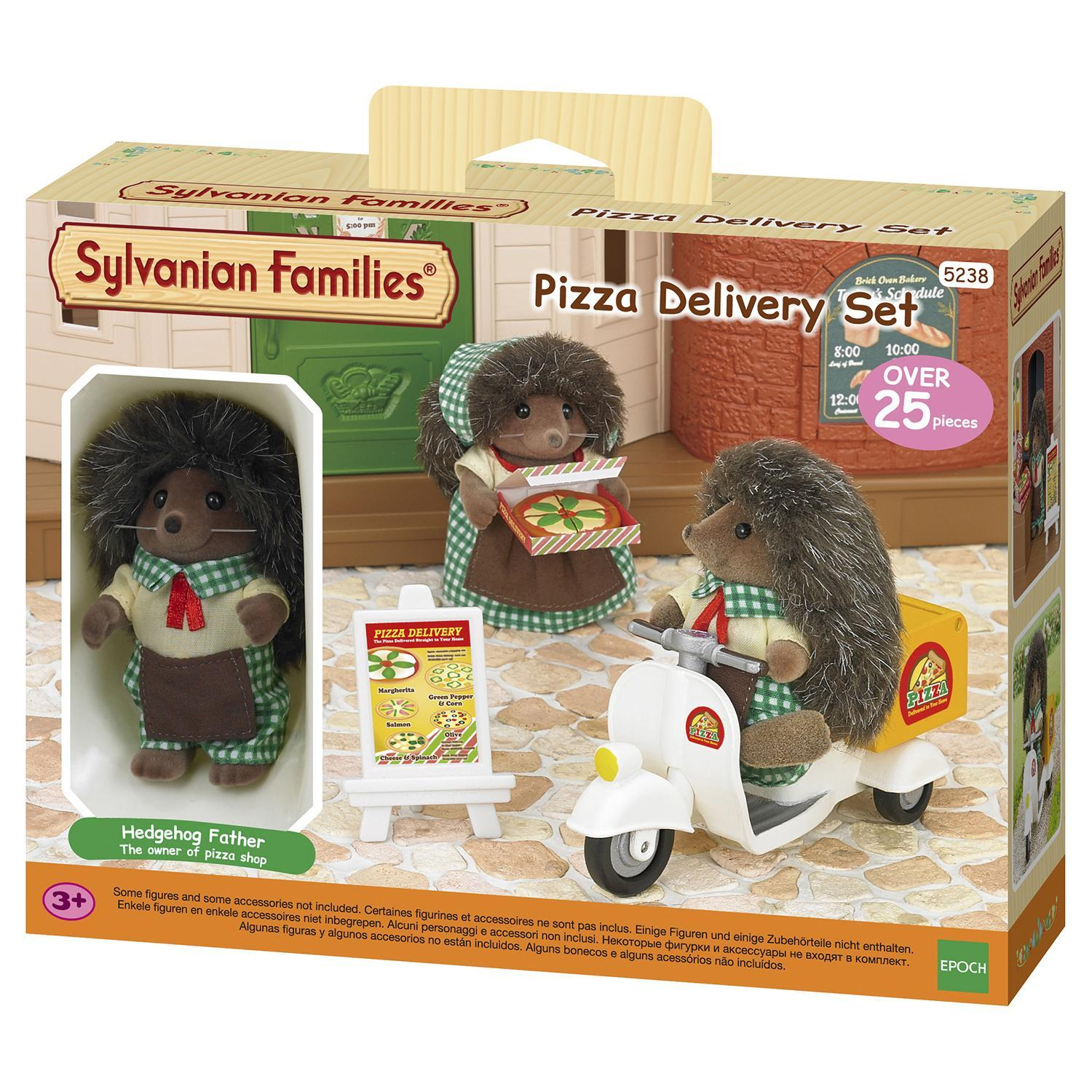 Sylvanian Families Pizza delivery set (5238)