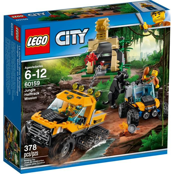 Lego City Jungle Halftruck Mission