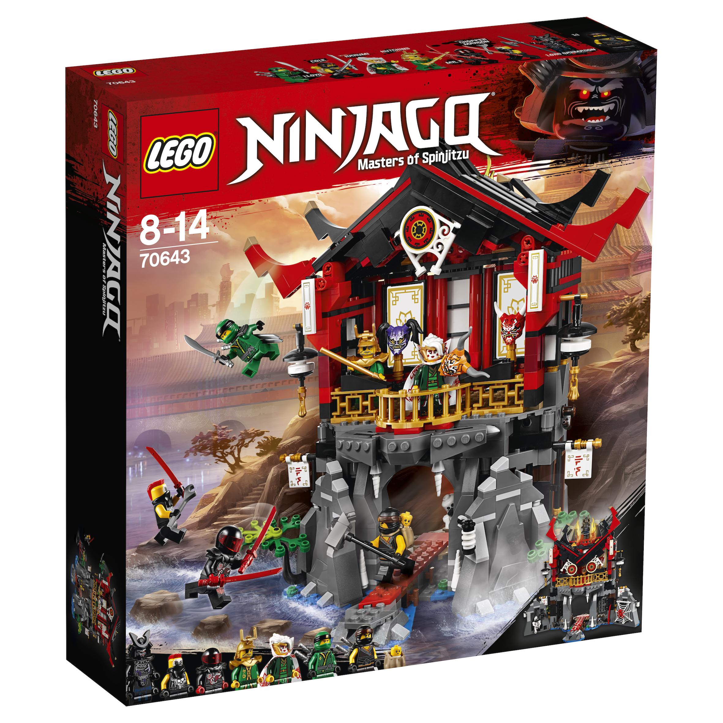 Lego Ninjago Temple of Resurrection (70643)