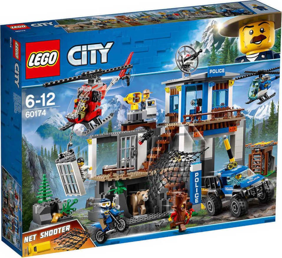 Lego City Mountain police headquarters (60174)