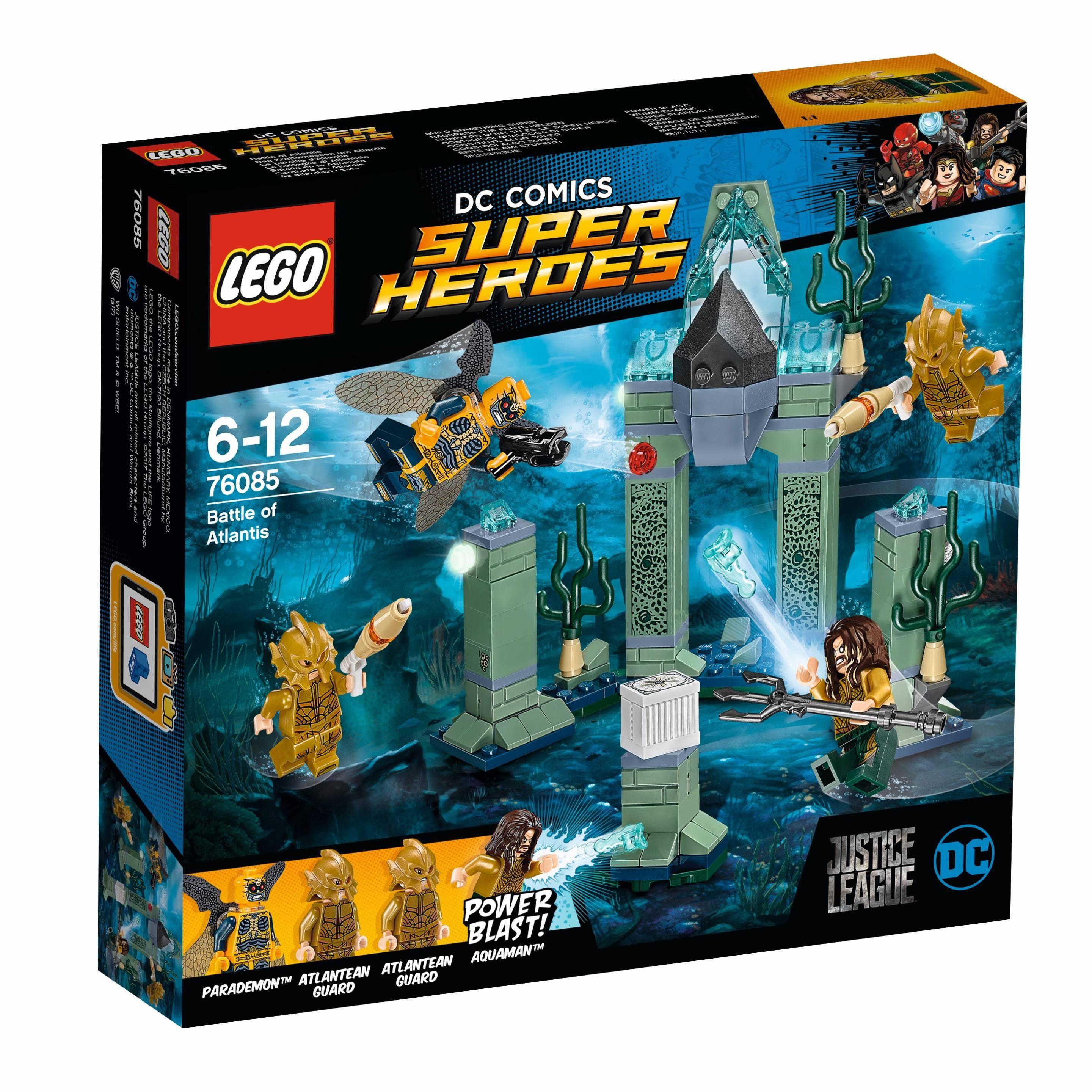 Lego Super Heroes Battle (76085)