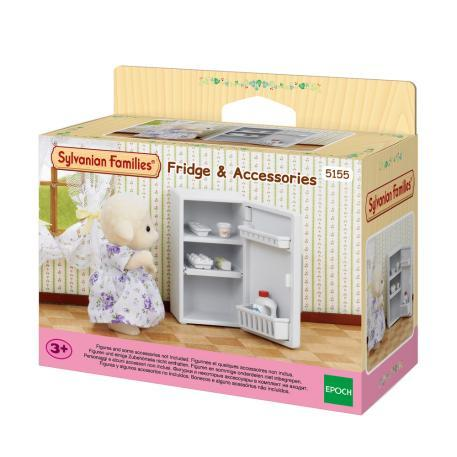 Sylvanian Families Fridge and accessories