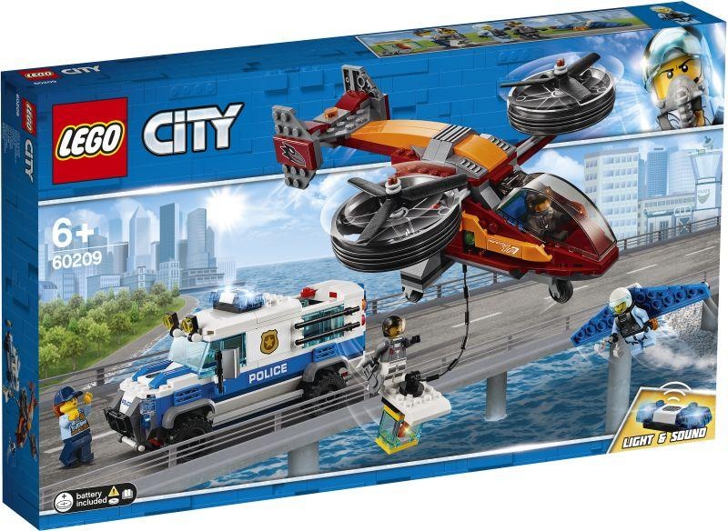 Lego City Sky Police Diamond Heist (60209)