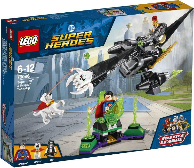 Lego Super Heroes Superman & Krypto Team-Up (76096)