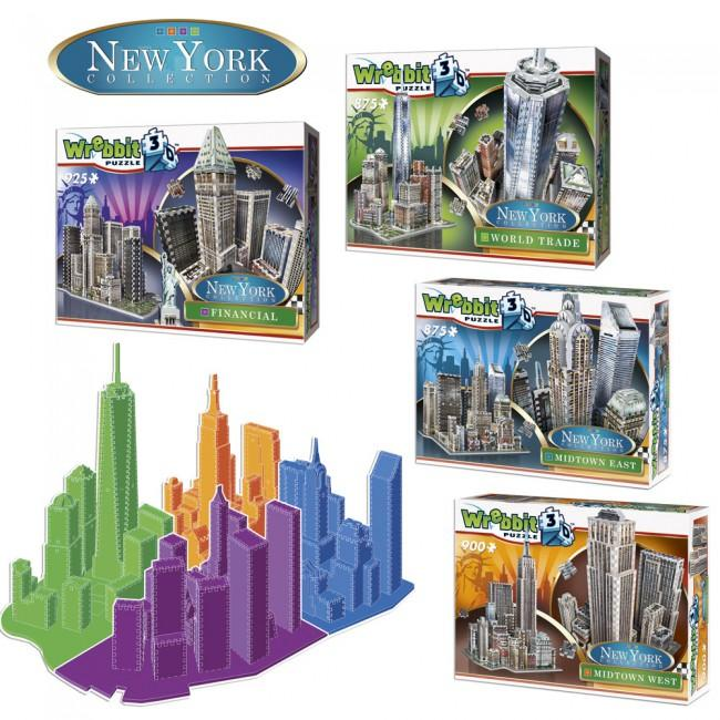 3D puzzle New York Collection - World Trade