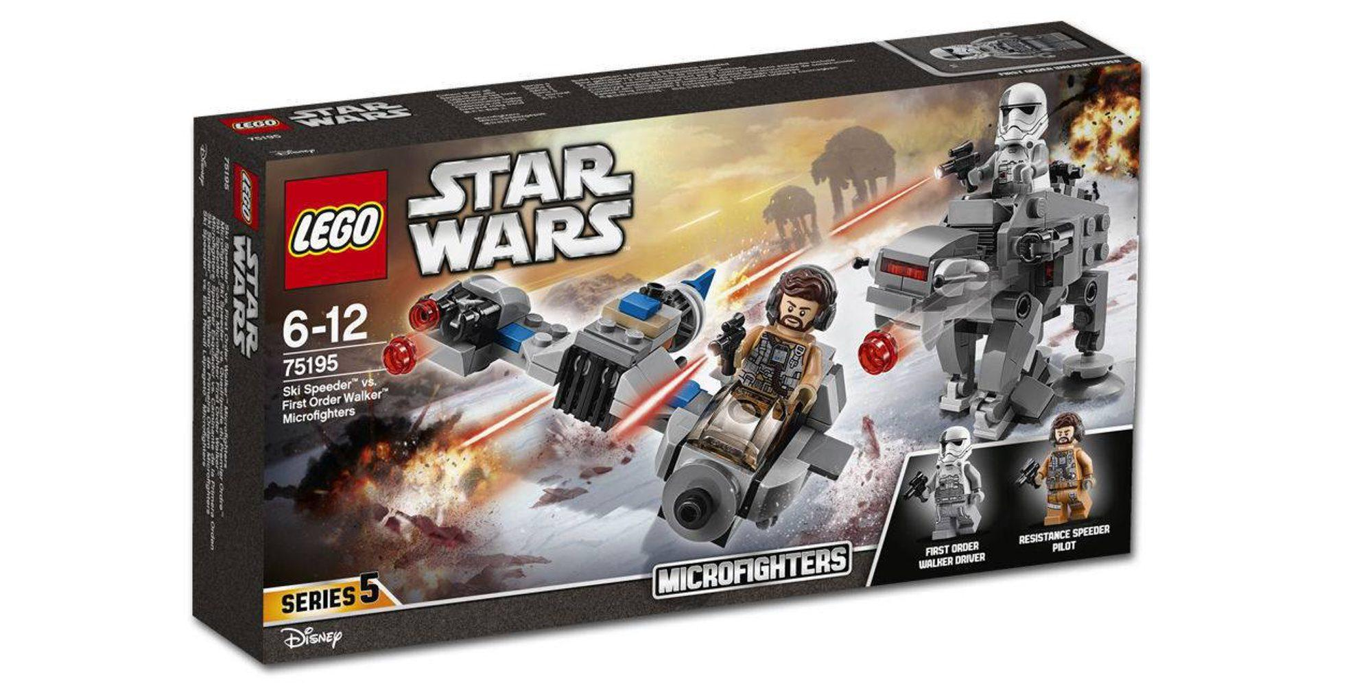Lego Star Wars Ski Speeder vs. First Order Walker Mic (75195)