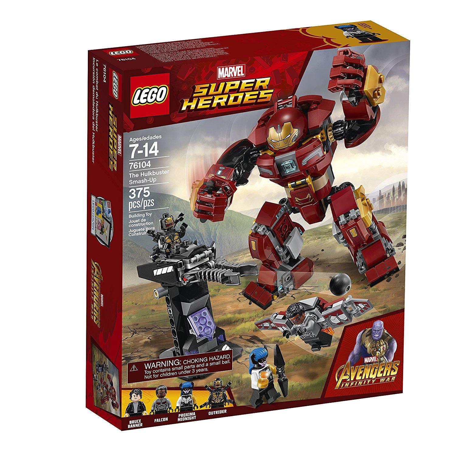 Lego Super Heroes The hulkbuster Smash-Up (76104)