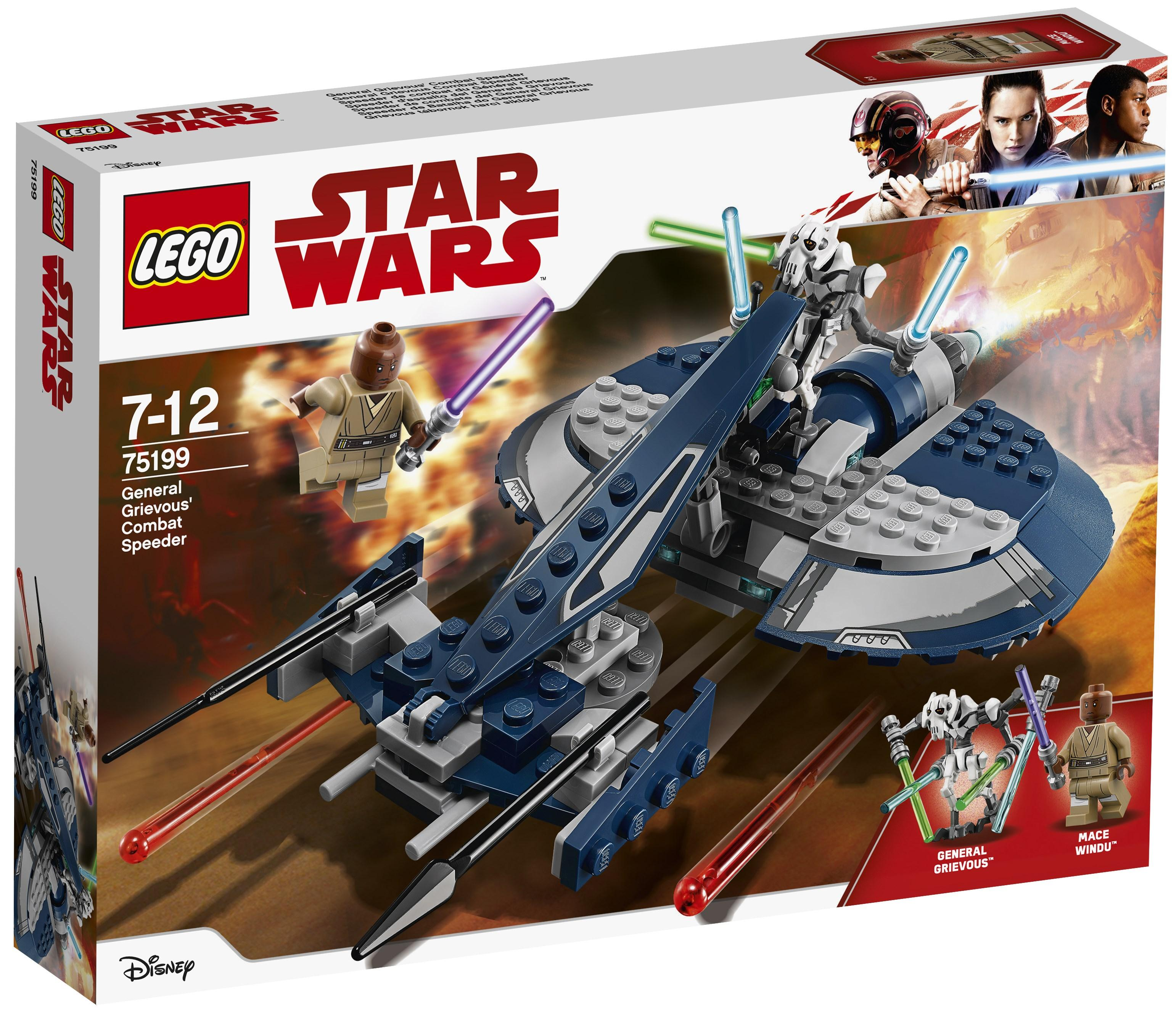 Lego Star Wars General Grievous' Combat Speeder (75199)