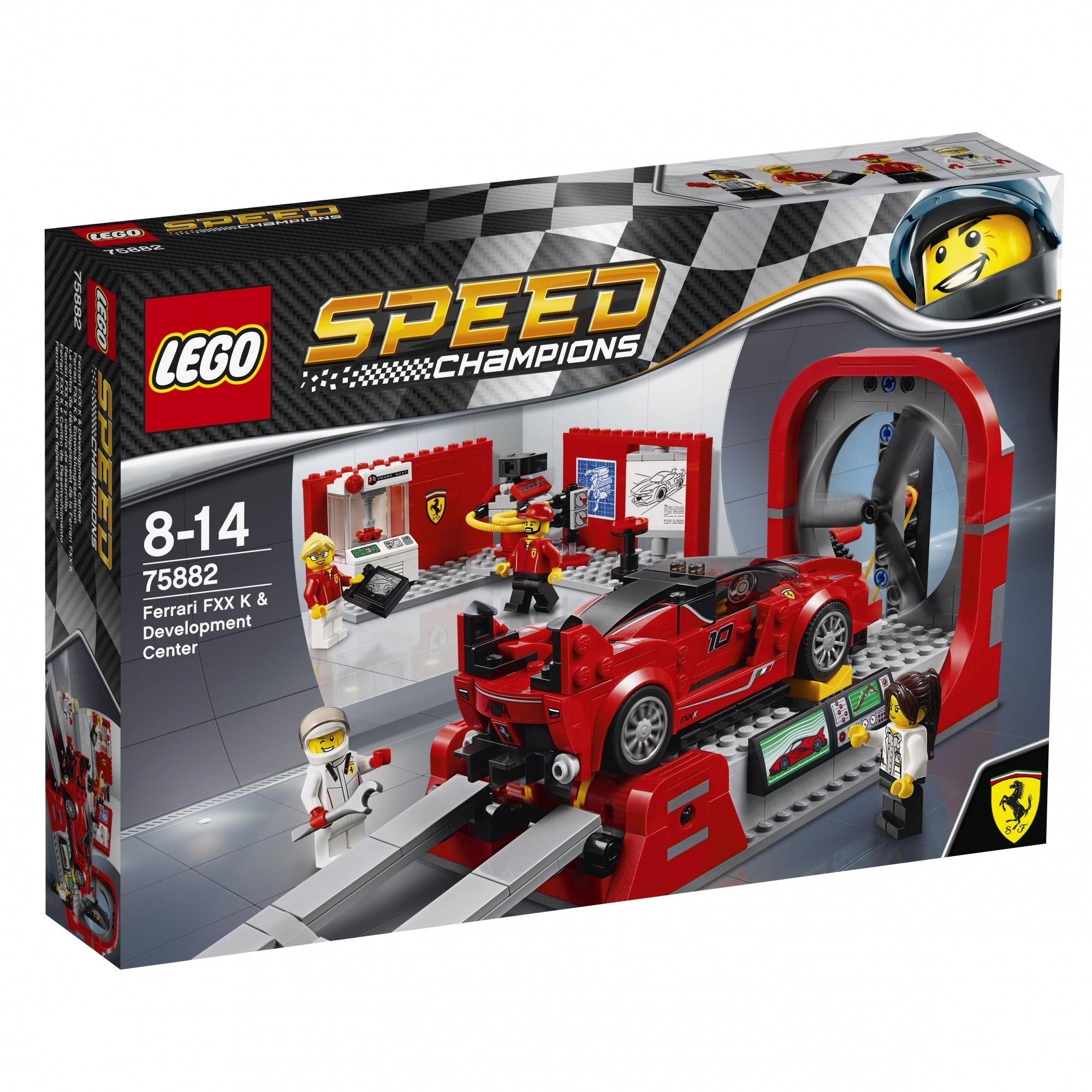 Lego Speed Champions Ferrari FXX K & Development Center