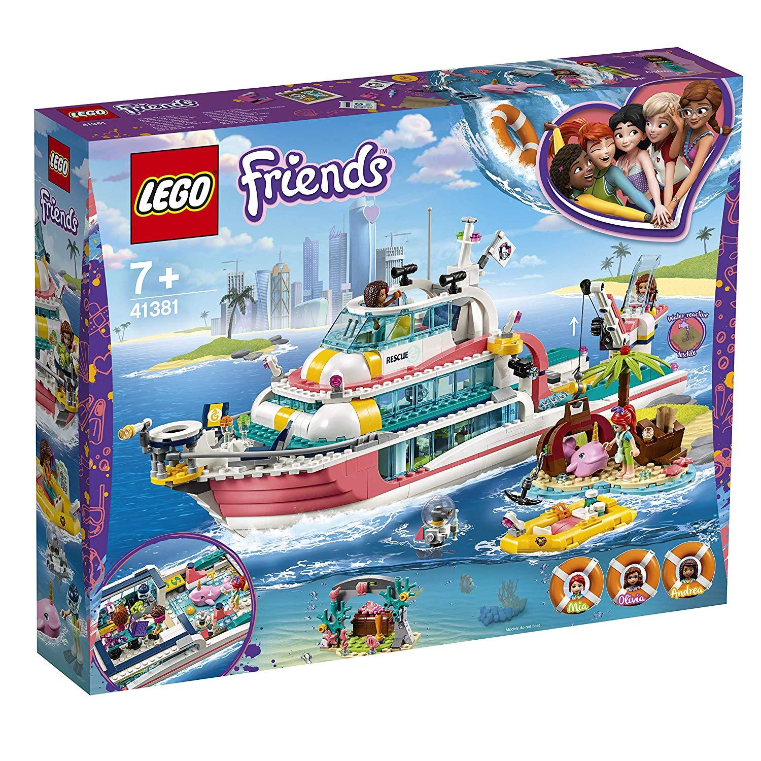 Lego Friends Rescue Mission Boat (41381)