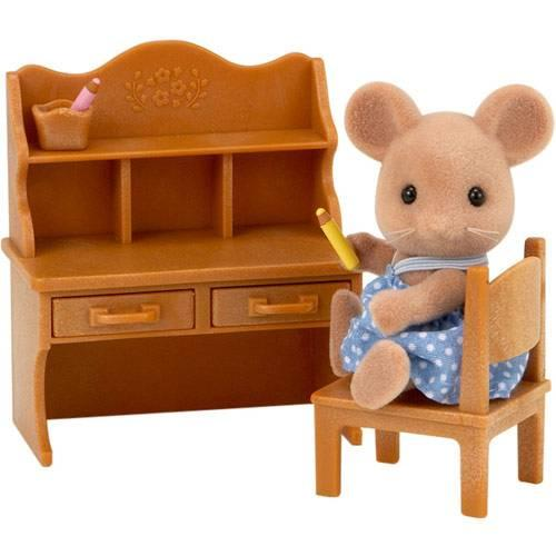 Sylvanian Families Mouse sister with deck set