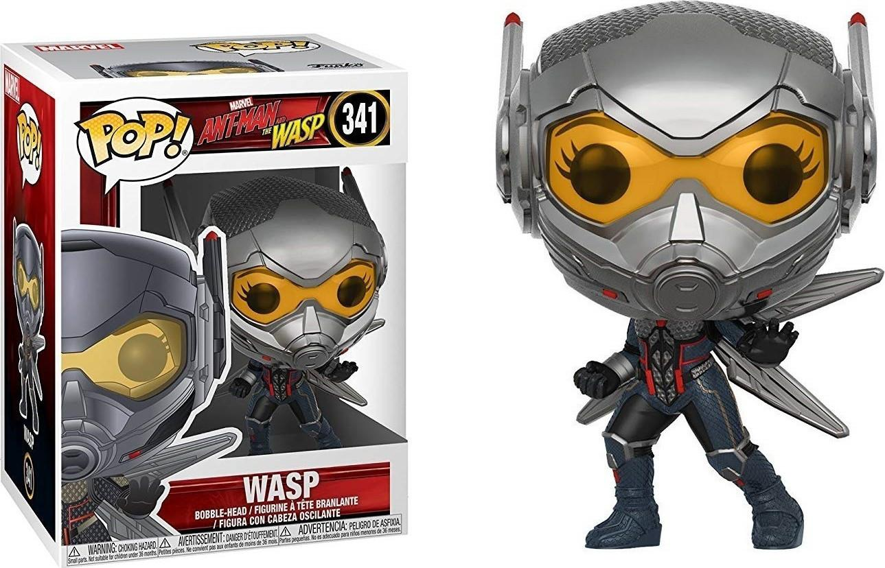 POP! Marvel: Ant-Man & The Wasp - Wasp (341) Vinyl Figure