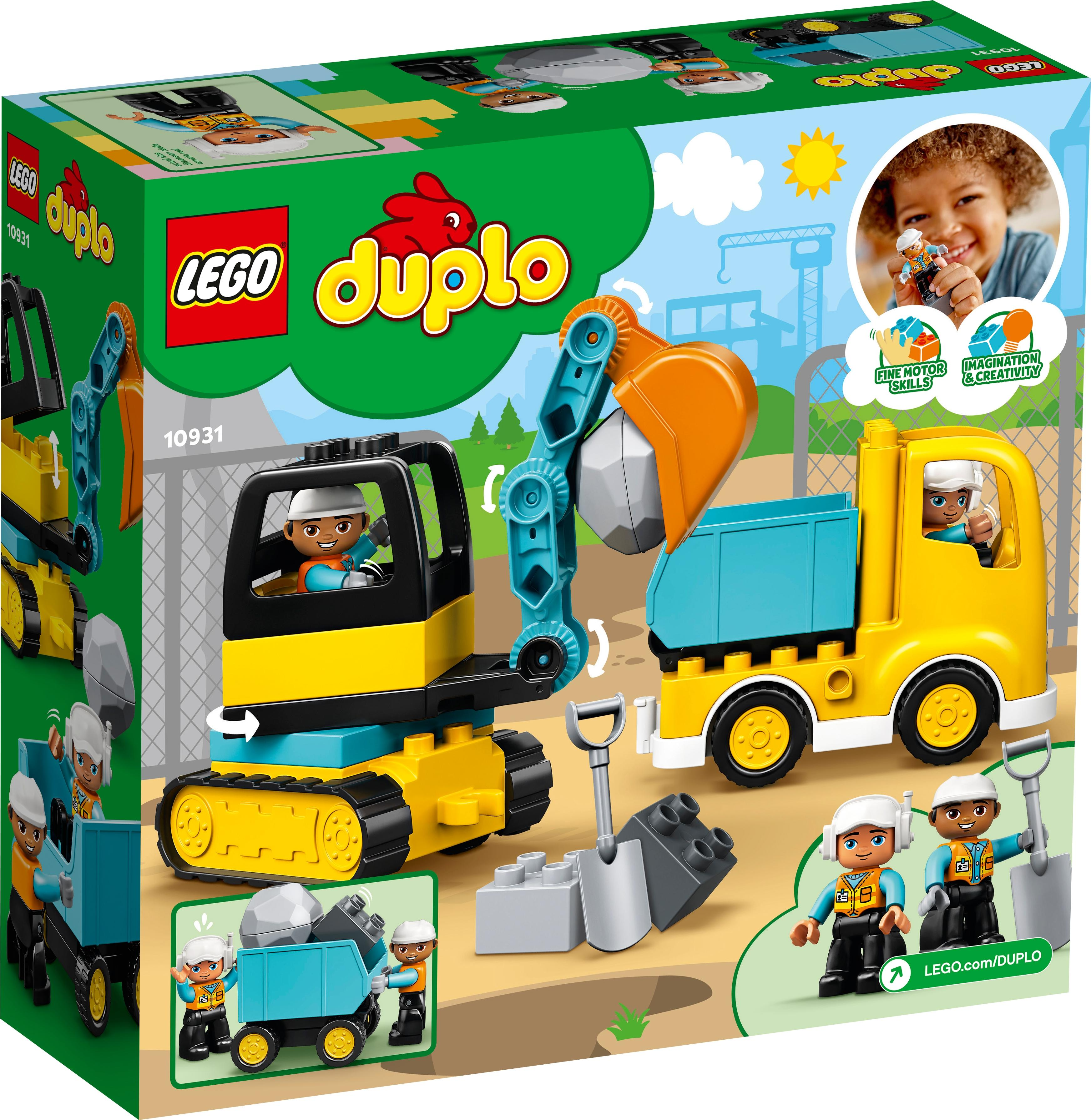 Lego Duplo Truck and Tracked Excavator (10931)