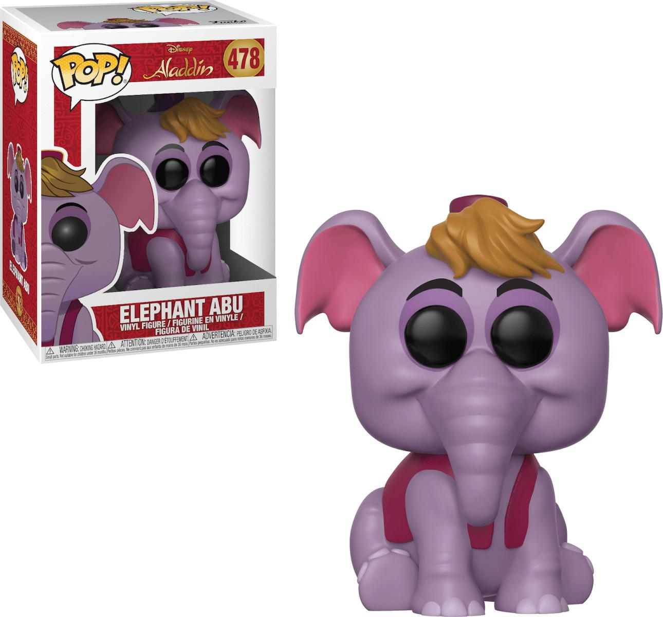 POP! Disney Aladdin - Elephant Abu (478) Vinyl Figure
