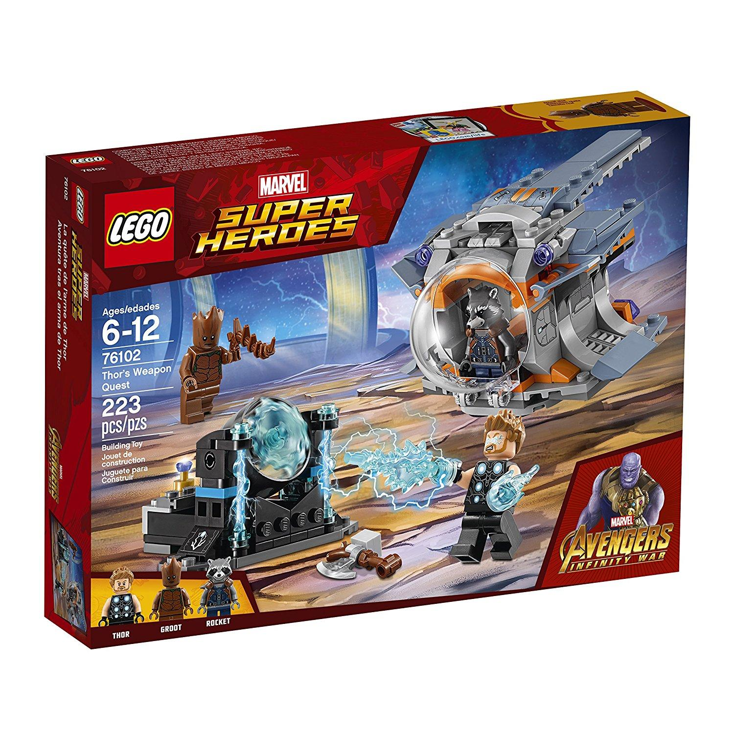 Lego Super Heroes Thor's Weapon Quest (76102)