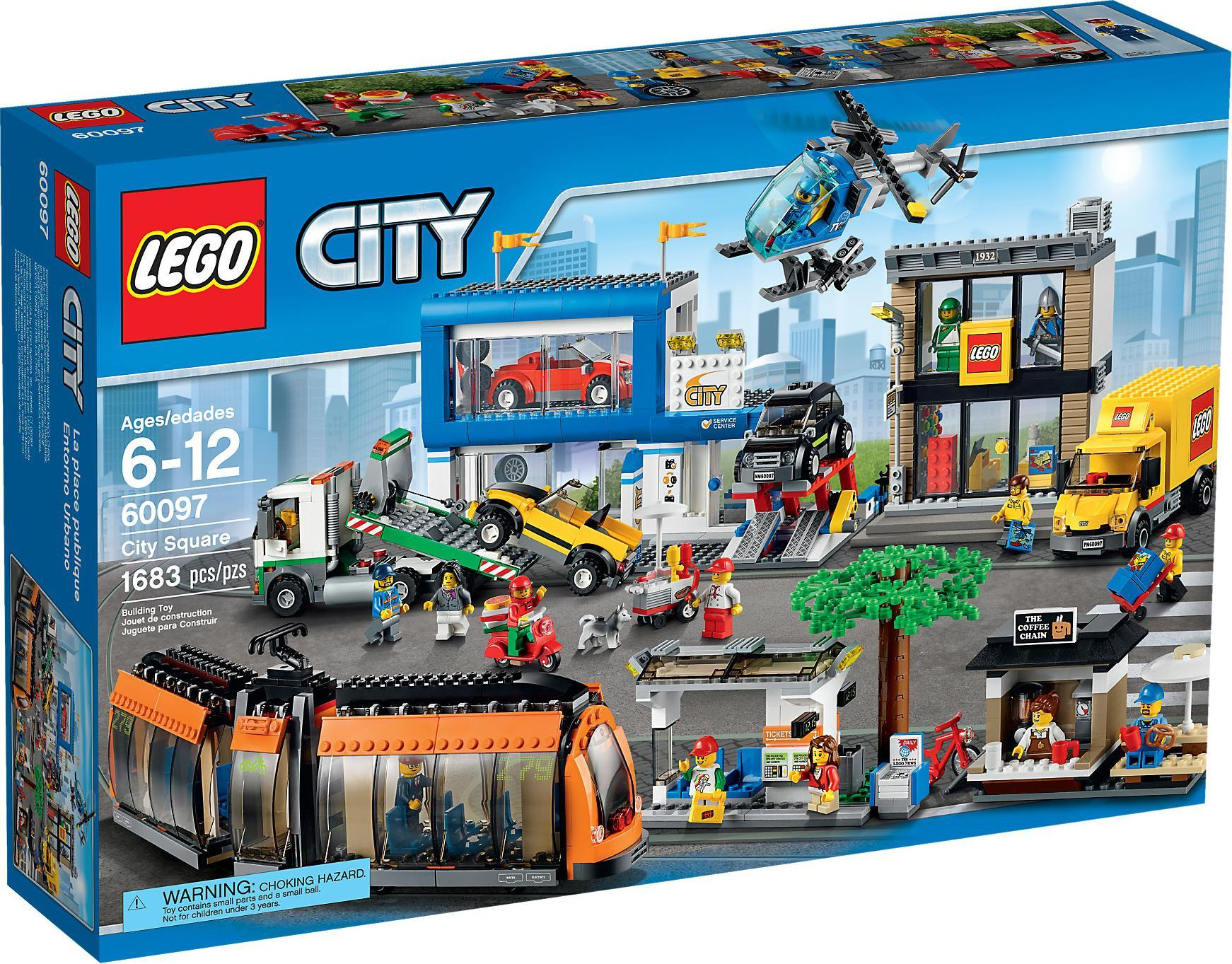 Lego City City Square