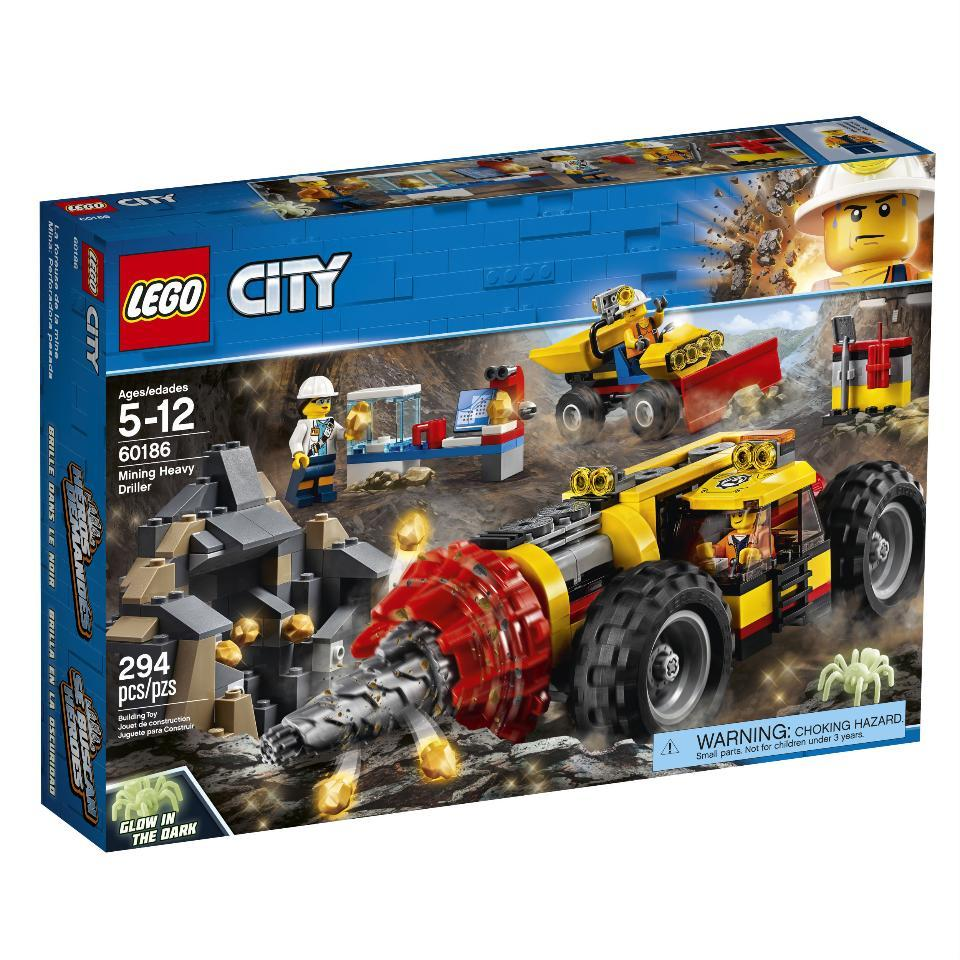Lego City Mining Heavy Driller (60186)