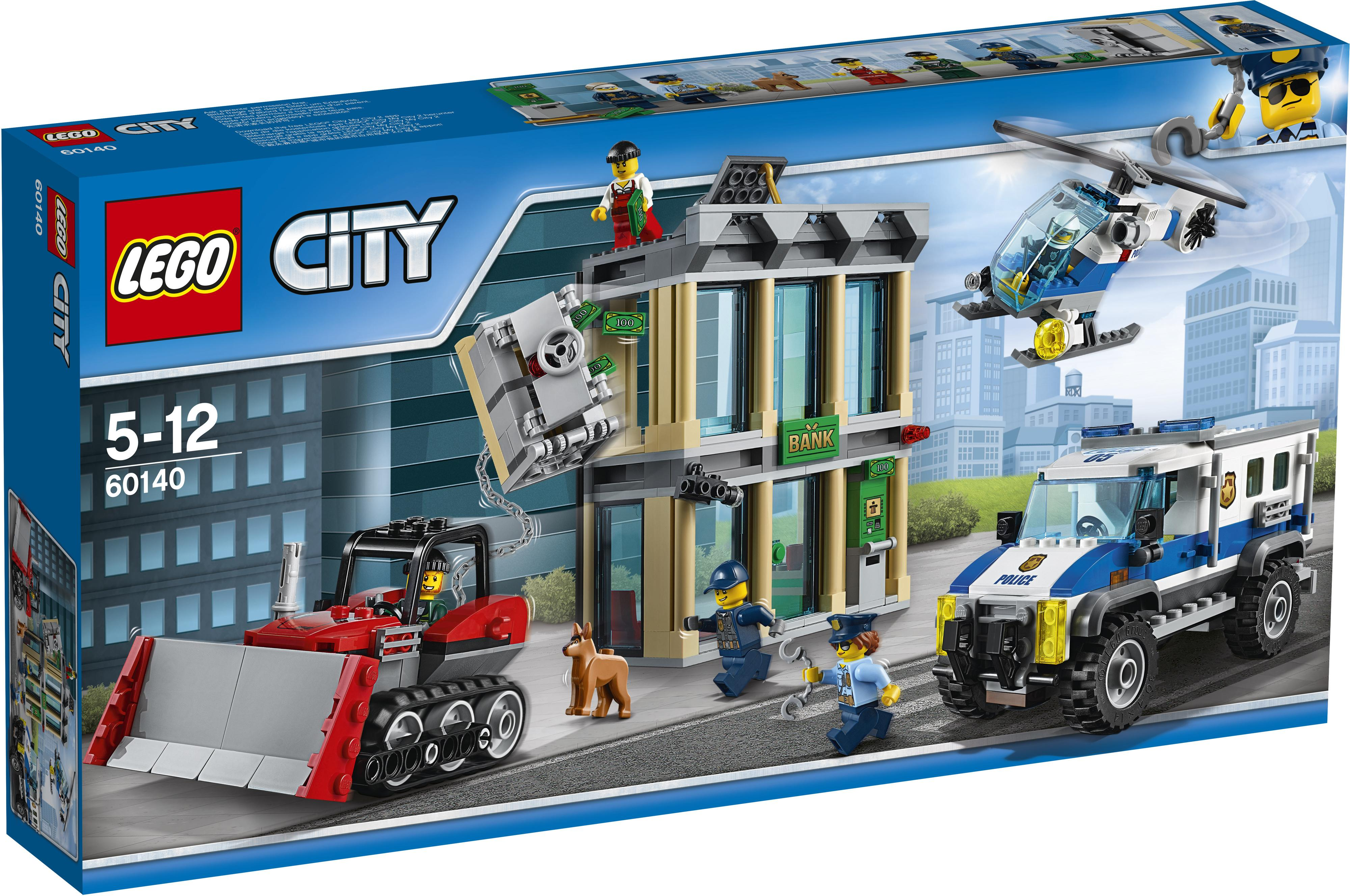 Lego City Police Bulldozer Break-in (60140)