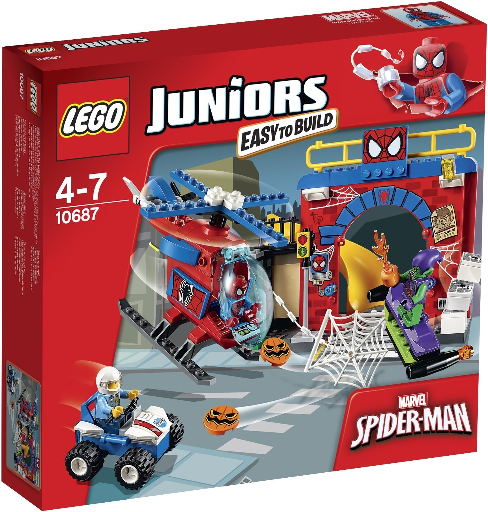 Lego Juniors Spiderman's hideout