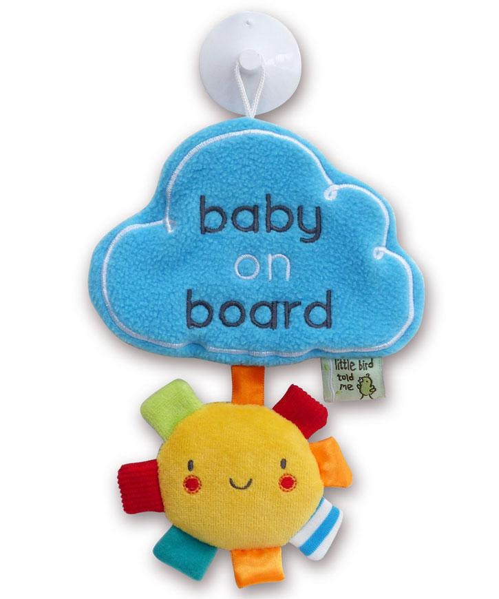 Baby on Board My Little Sunshine (3061)