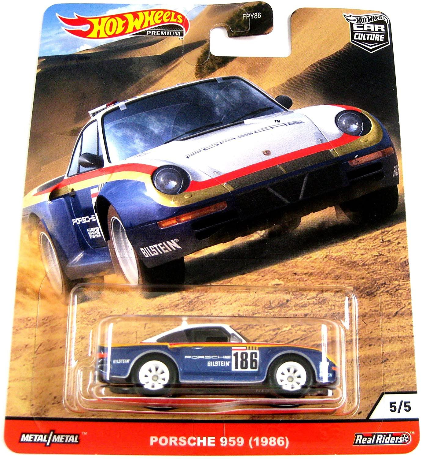 Hot Wheels Car Culture Wild Terrain Real Riders Porsche 959 (1986) (GJP87/FPY86)