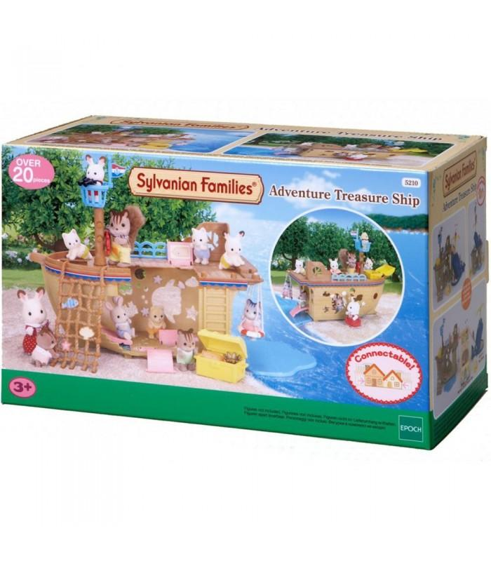 Sylvanian Families Treasure Ship