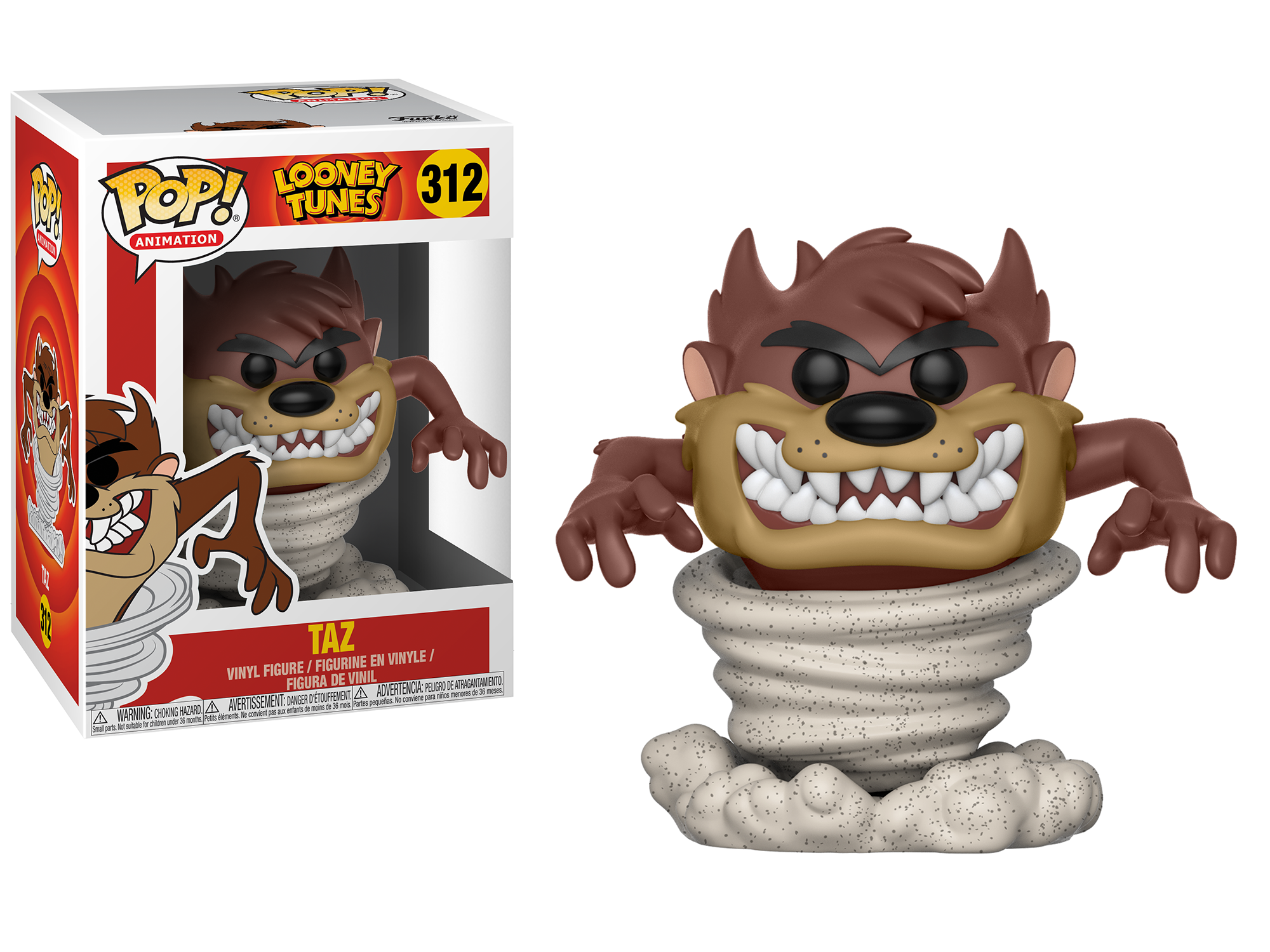 POP! Looney Tunes - Taz (312) Vinyl Figure