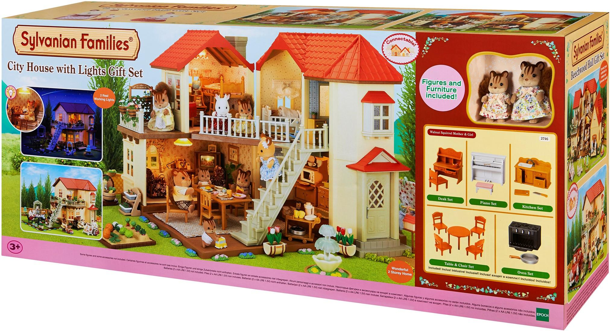 Sylvanian Families City House with Lights & Furniture (2746)