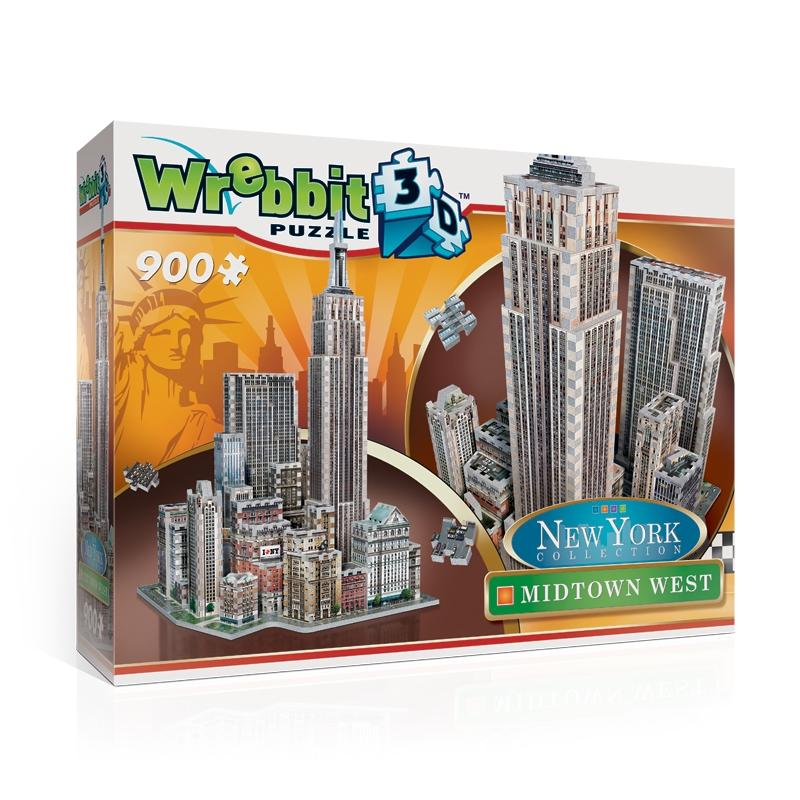 3D puzzle New York Collection - Midtown West