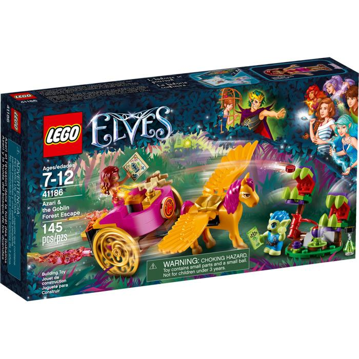 Lego Elves Azari & the Goblin Forest Escape
