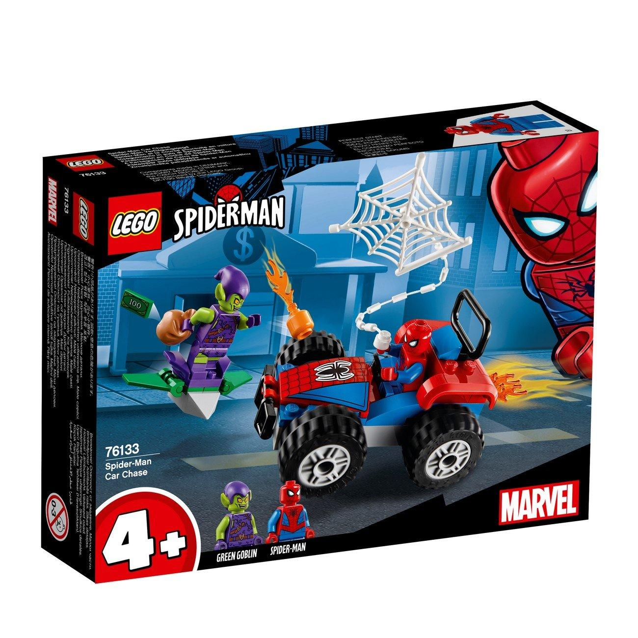 Lego Super Heroes Spider-Man Car Chase (76133)