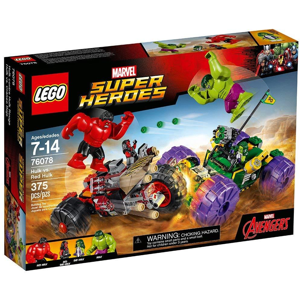 Lego Super Heroes Mighty Micros: Hulk vs. Red Hulk (76078)