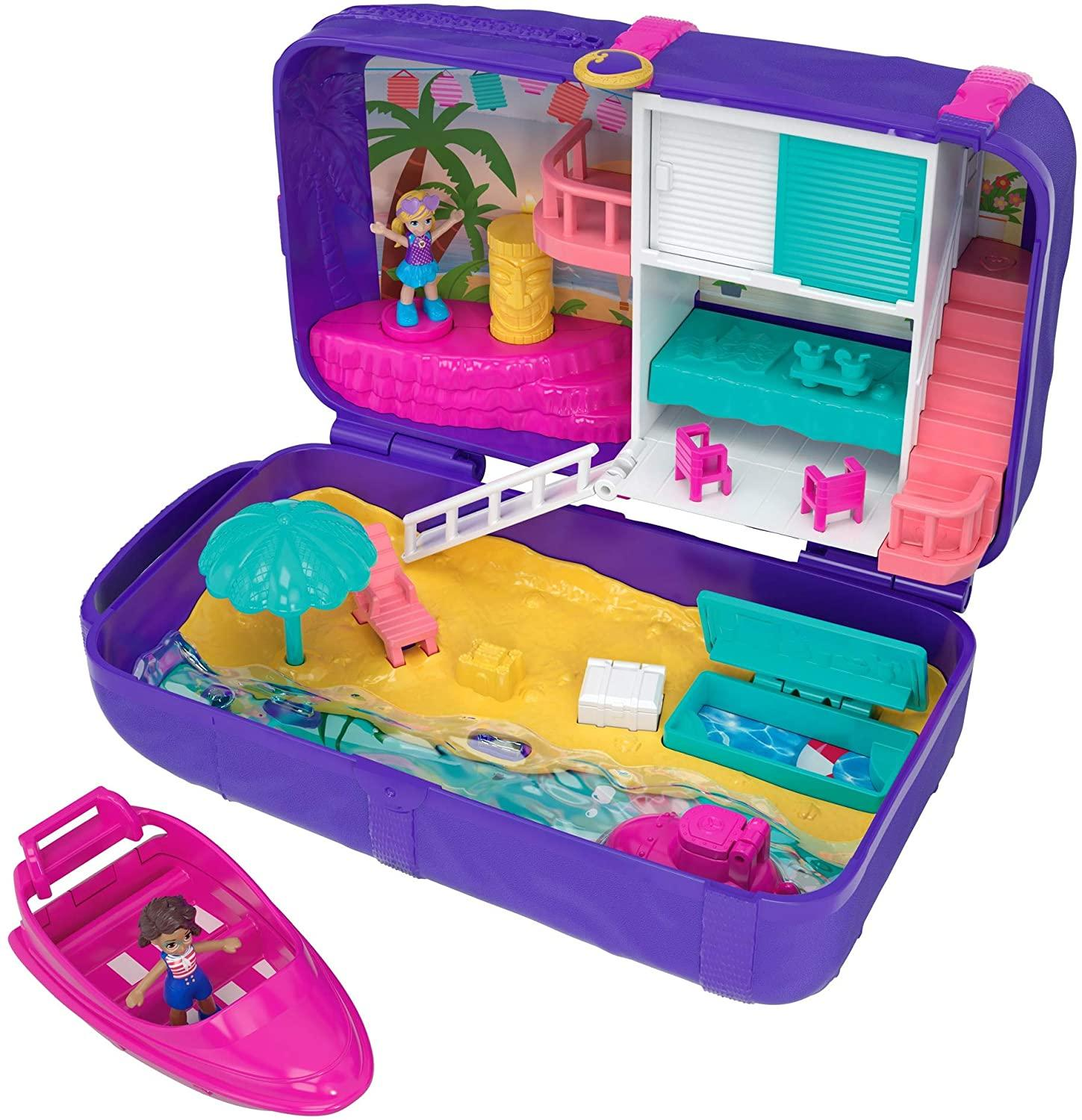 Polly Pocket Mini Τσαντάκι Έκπληξη Backpack (FRY40/FRY39)