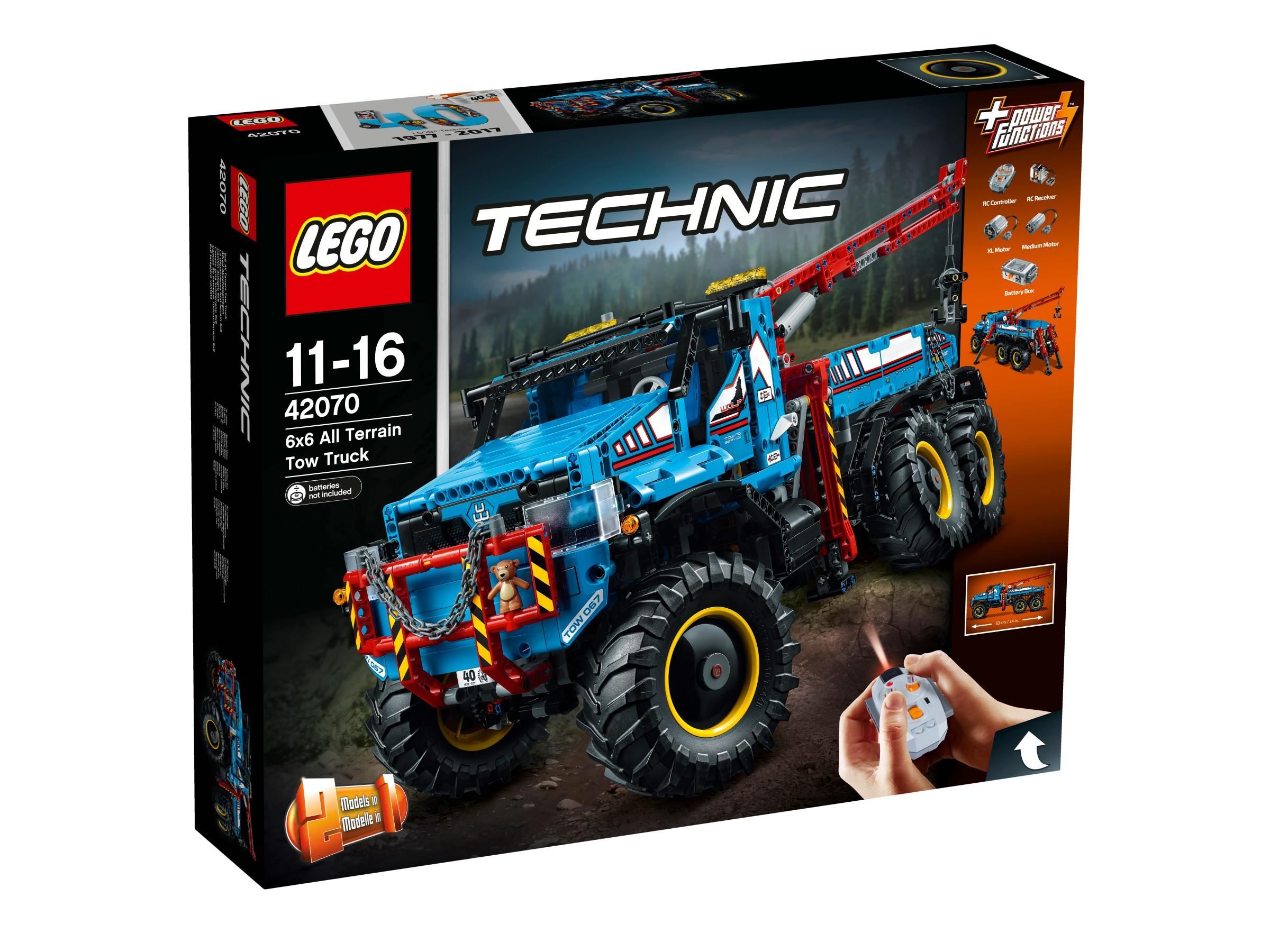 Lego Technic All Terrain Tow Truck