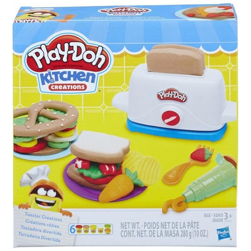 Play Doh toasted creations (00390)