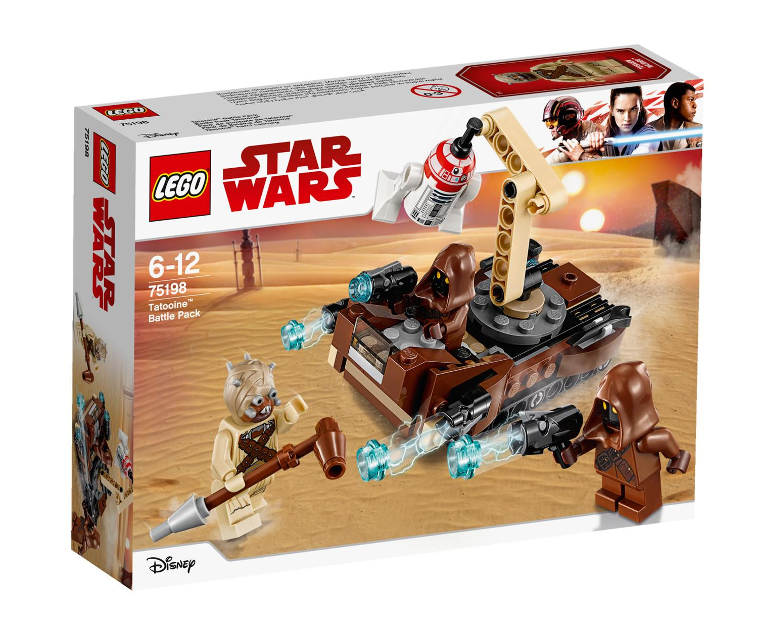 Lego Star Wars Tatooine Battle Pack (75198)