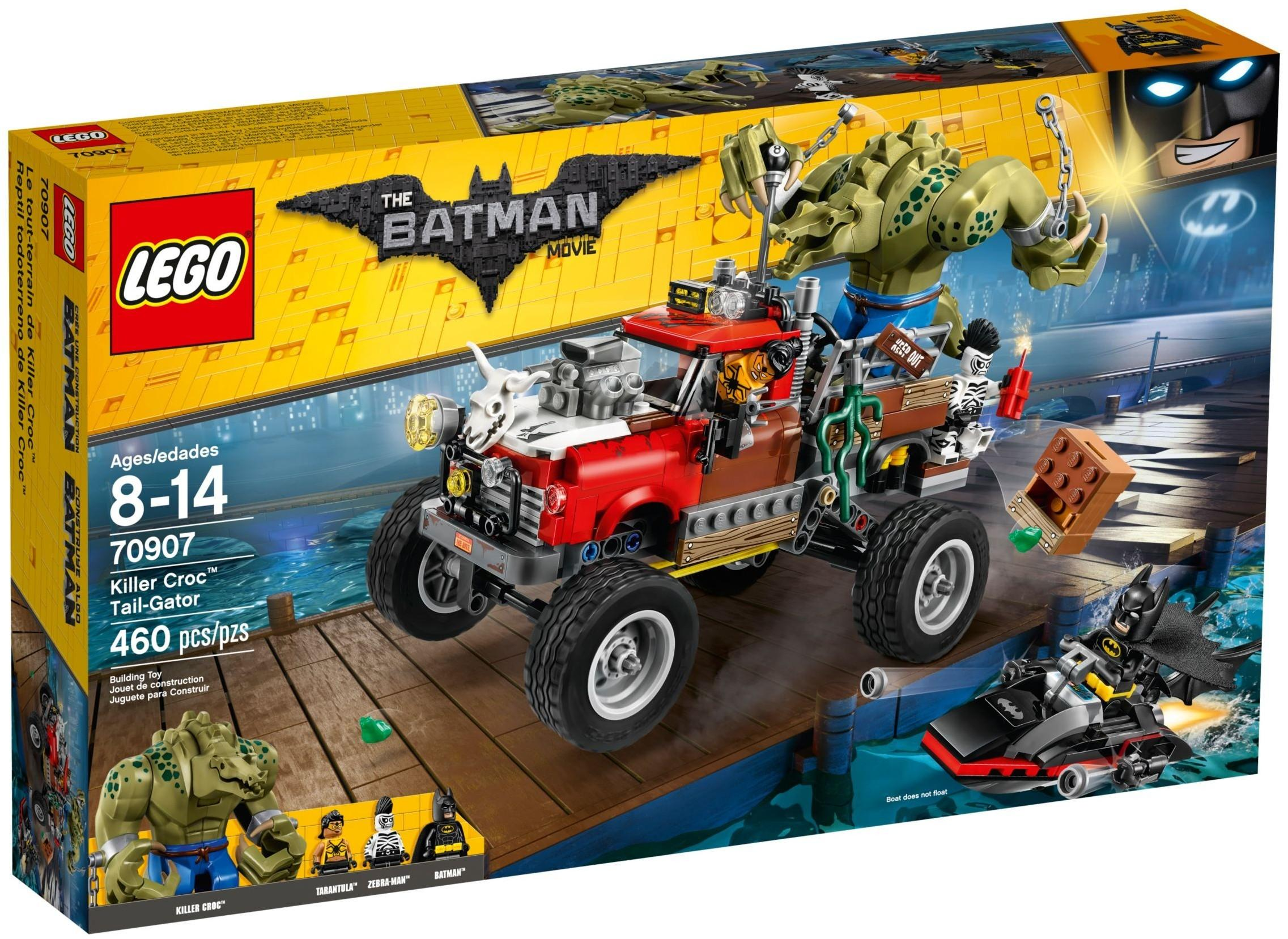 Lego Batman Movie Killer Croc Tail Gator