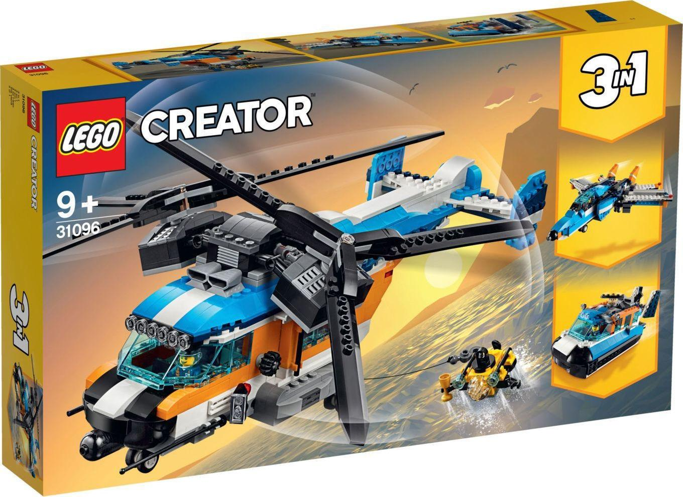Lego Creator Twin - Rotor Helicopter (31096)