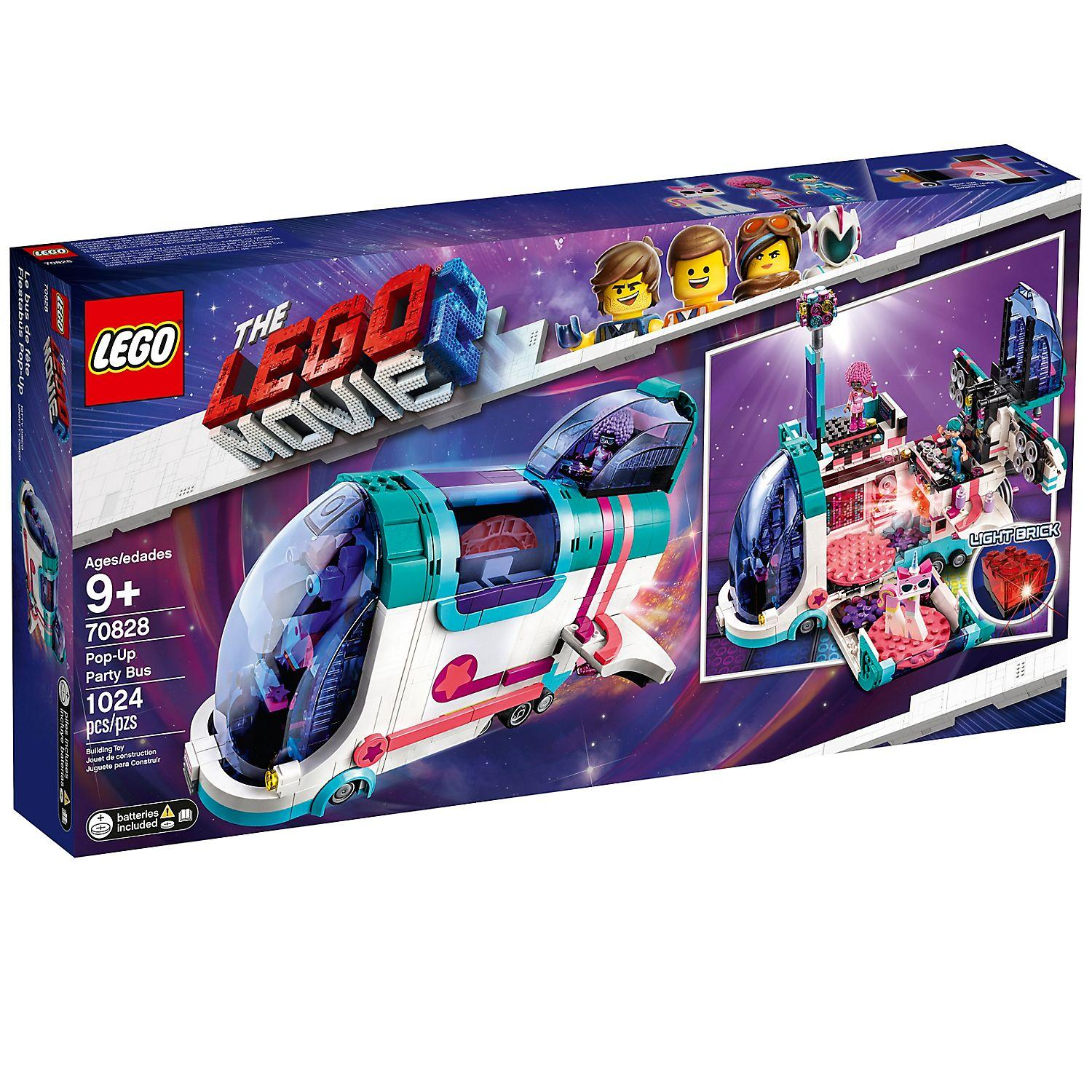 Lego Movie 2 Pop-Up Party Bus (70828)