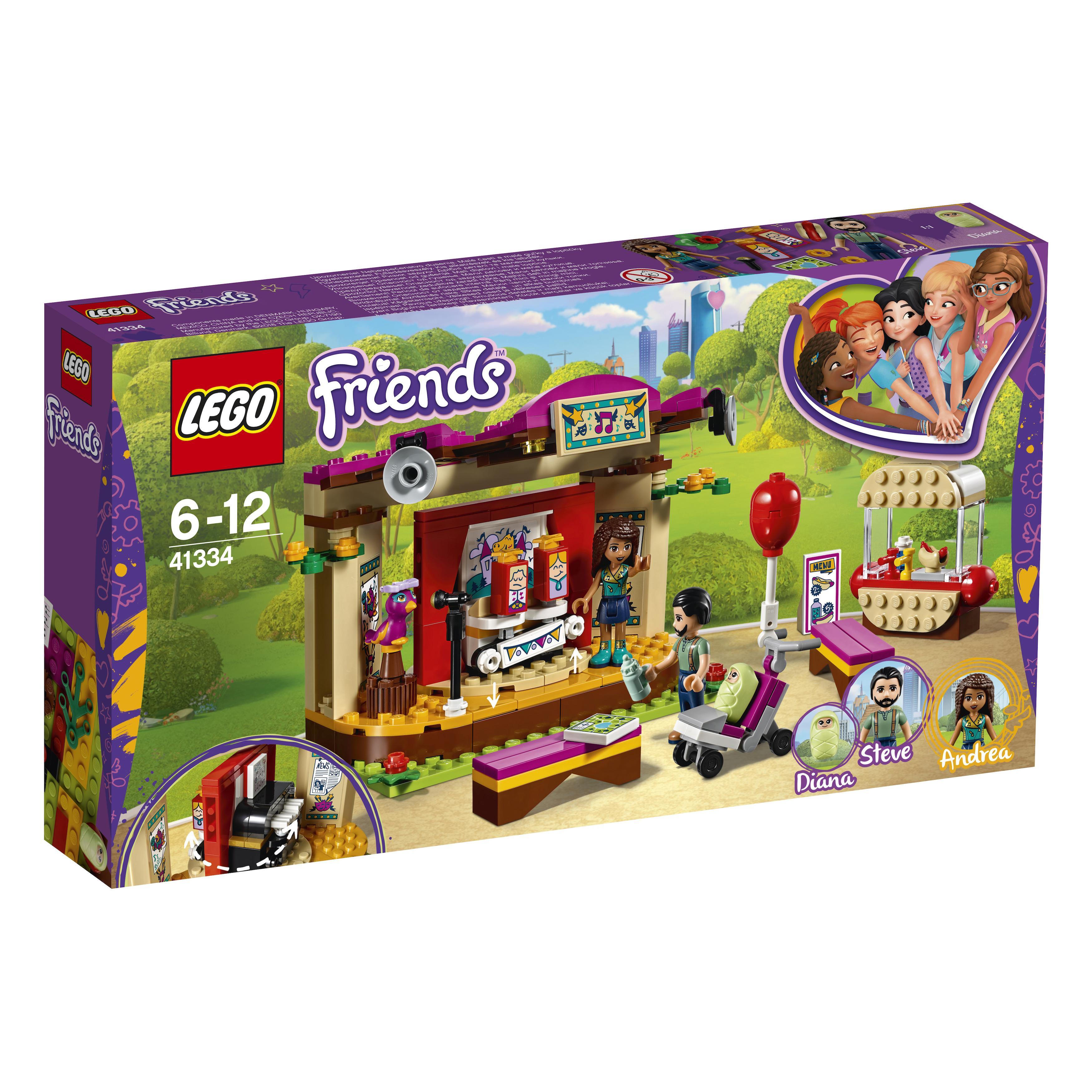 Lego Friends Andrea's Park Performance (41334)